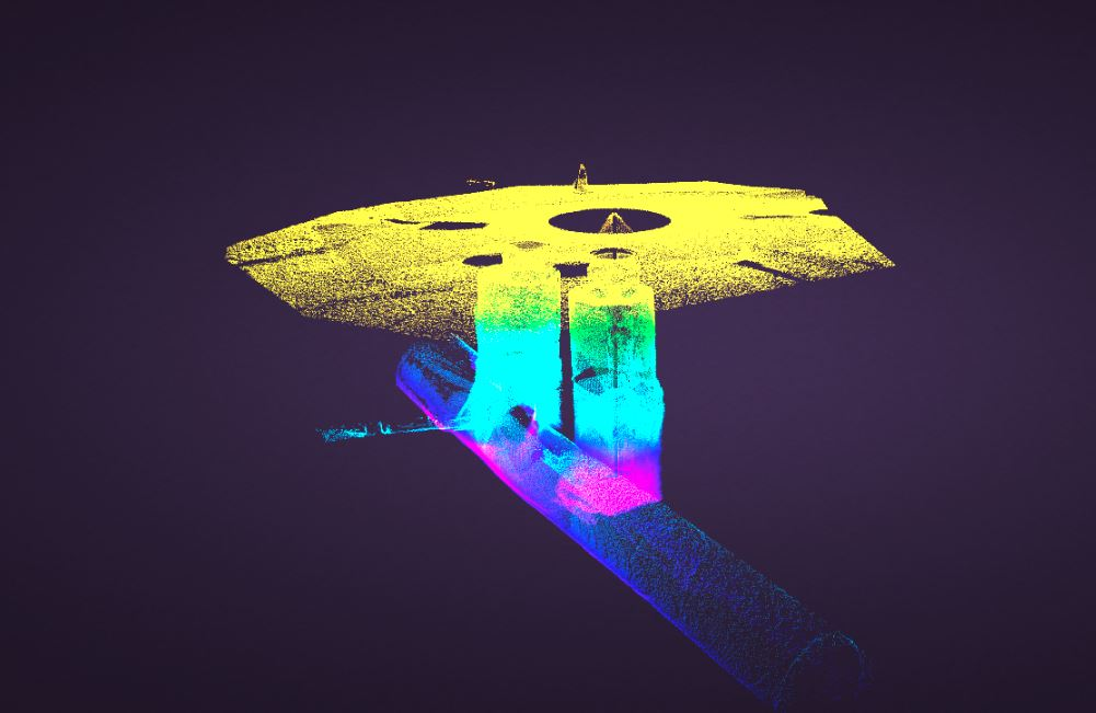 Manhole Point Cloud Data laser scans