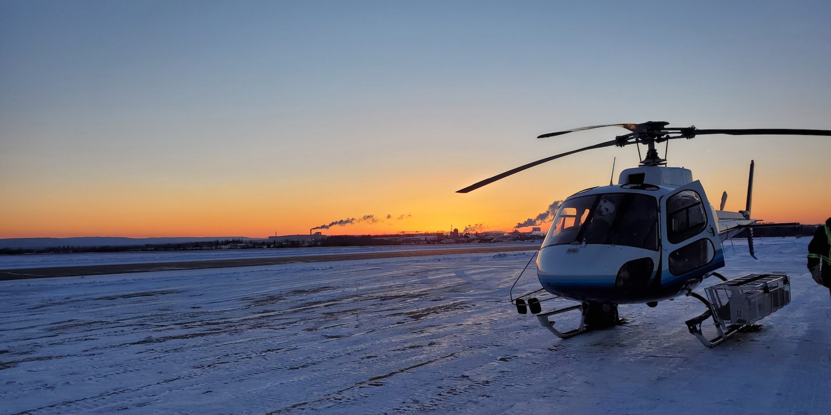 Helicopter job in Fort St John