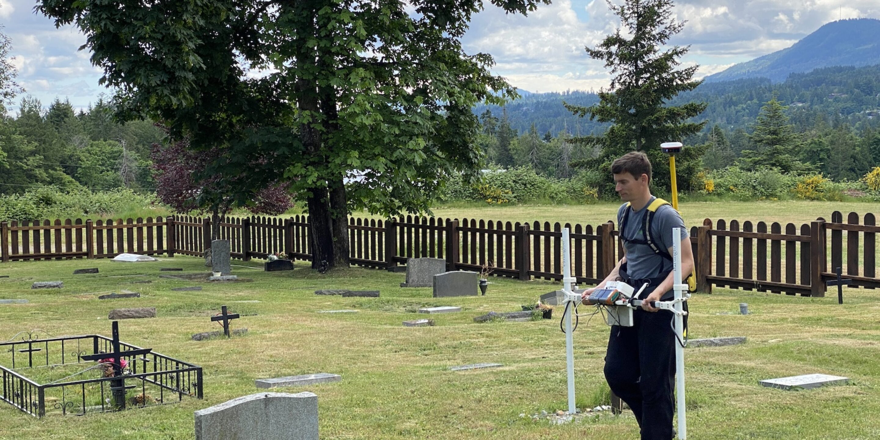Unmarked burial survey
